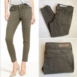 Treasure & Bond Seamed Ankle Skinny Jeans